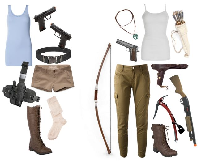 Epic Everyday Cosplay: Lara's Tantalizing Tomb Raider Style