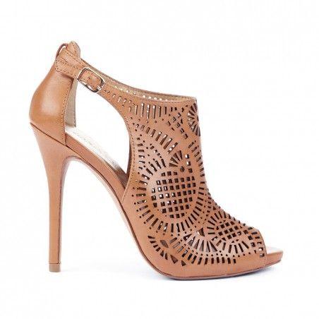 Tisha peep toe shoetie//