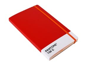 Pantone Notebook. Red 186C. I love that they're making all these Pantone products. And who wouldn't love a product with good ol' Pantone 186C?