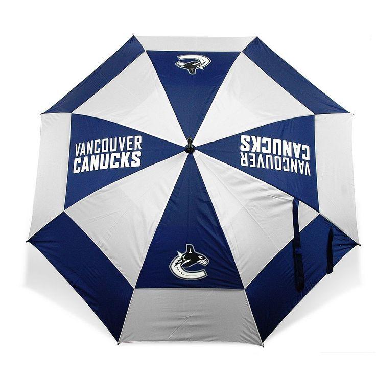 Team Golf Vancouver Canucks Umbrella, Multicolor