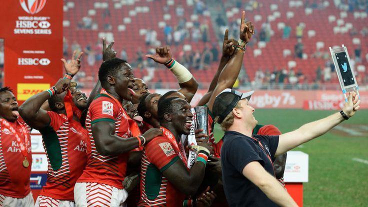 Kenya 7 vs Fiji 7 Rugby Scores Live - World - Sevens World Series - South Africa