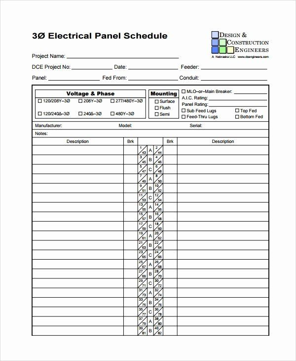 Free Printable Circuit Breaker Panel Labels Awesome 8 Panel