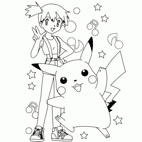 Free Printable Pokemon Pikachu Coloring Pages