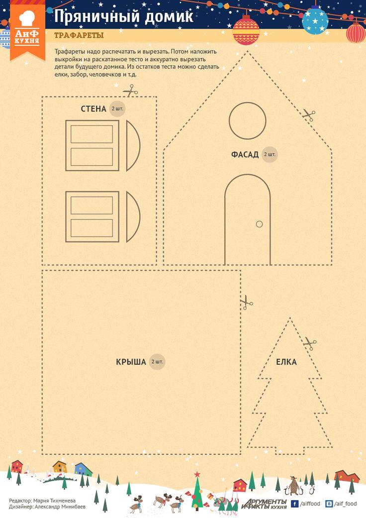 Как построить пряничный дом. Подробное руководство | Стол | Новый год | Аргументы и Факты