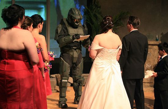 YES. MARRYING MASTER CHIEF!!