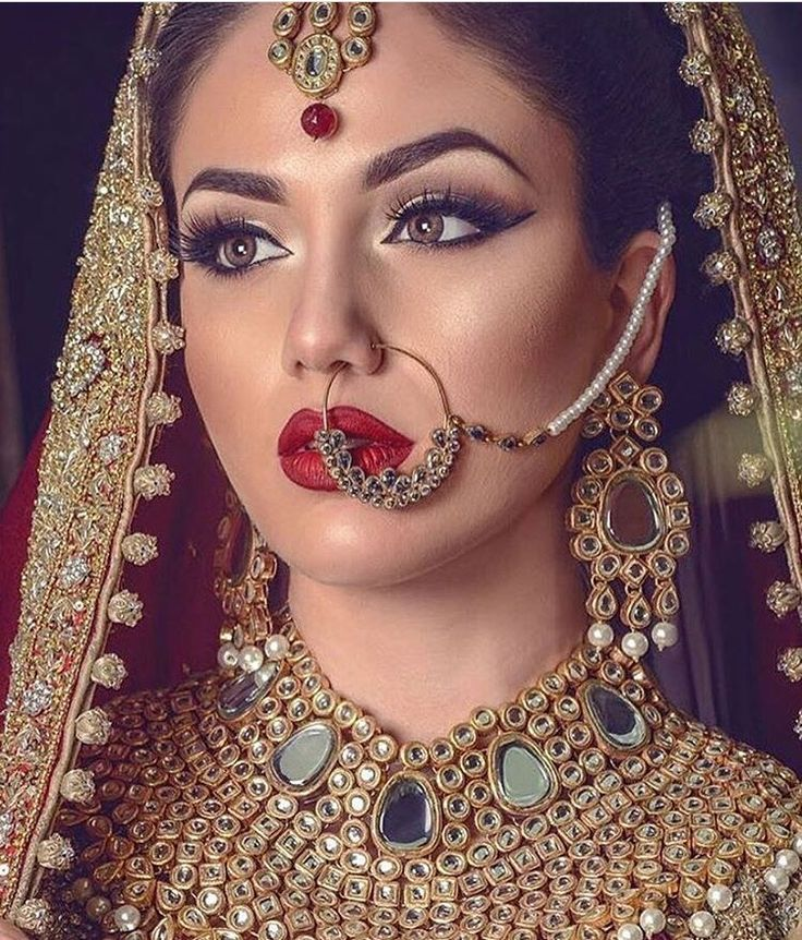 Gorgeous is the word to describe this bridal look | bridal makeup ideas | wedding venue search | wedfine.com | wedding blogs |