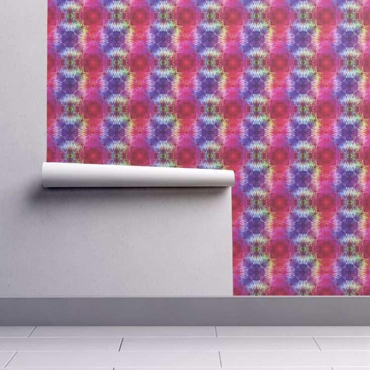 NEW WEAVE KILIM NAVAJO IKAT VIOLET on Isobar by paysmage | Roostery Home Decor