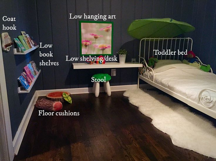 25 best ideas about montessori toddler bedroom on for Montessori kids room