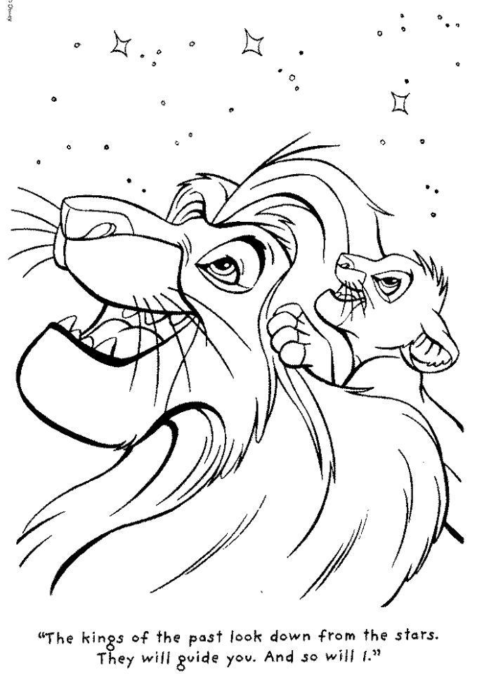 Lion King Coloring Book Online Lion King Drawings King Coloring Book Lion King Art