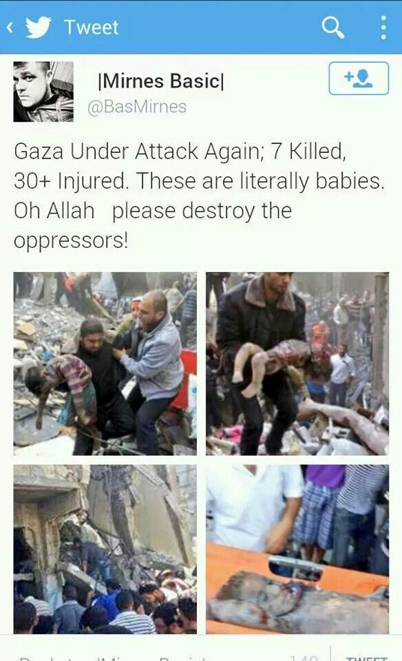 #save #gaza #palestine 2014 ... PLEASE Allah save the Palestinians ... Ameen ... kd