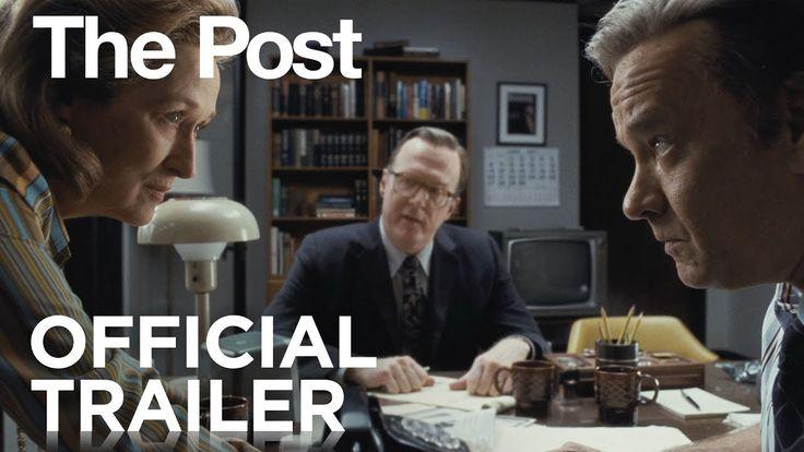 [Video] THE POST (2017) ~ Meryl Streep, Tom Hanks. Directed by Steven Spielberg. Trailer.