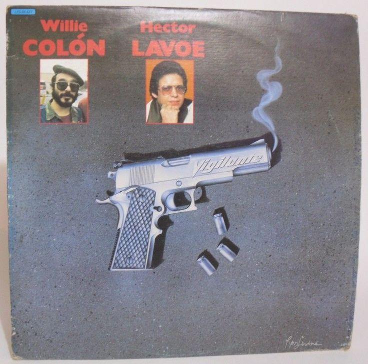 Hector Lavoe & Willie Colon - El Vigilante - LP Hecho en Venezuela #Salsa