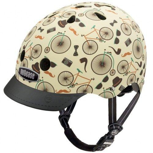 Vintage Velo GEN3 Street Nutcase hjelm #CykelhjelmMedCykler #CykelTur #Cykelhjelm #SikkerITrafikken #BilligNutcase