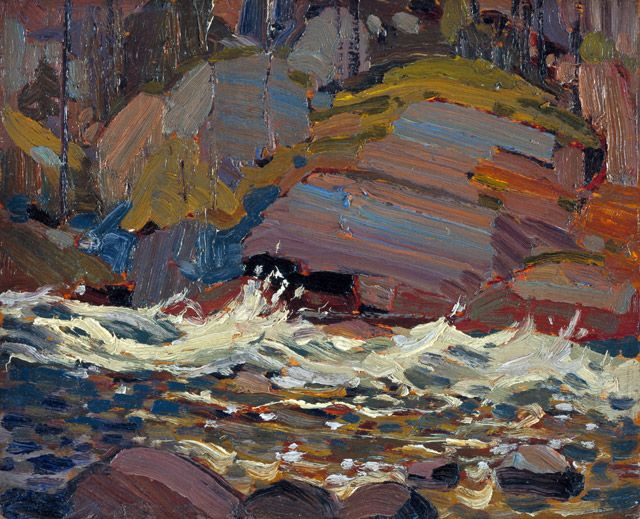 Swift Water 1916 by Tom Thomson
