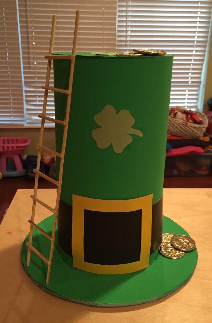 how to make a leprechaun trap for kids