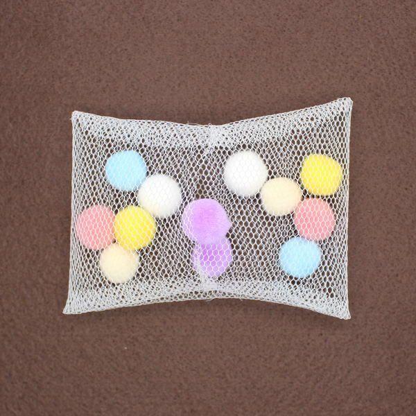 チュール素材で作るシースルーリボン(参考1)