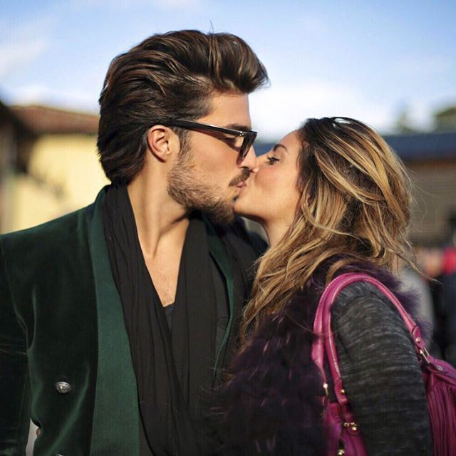Kiss ❤️#pitti pic By @eleonoraph