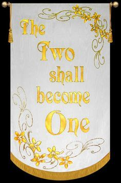 church banner for wedding - Google Search More