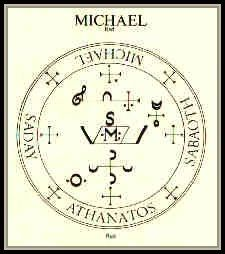 Seal Of Michael The Archangel .