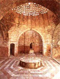 Hamam in Beiteddine Palace, Lebanon