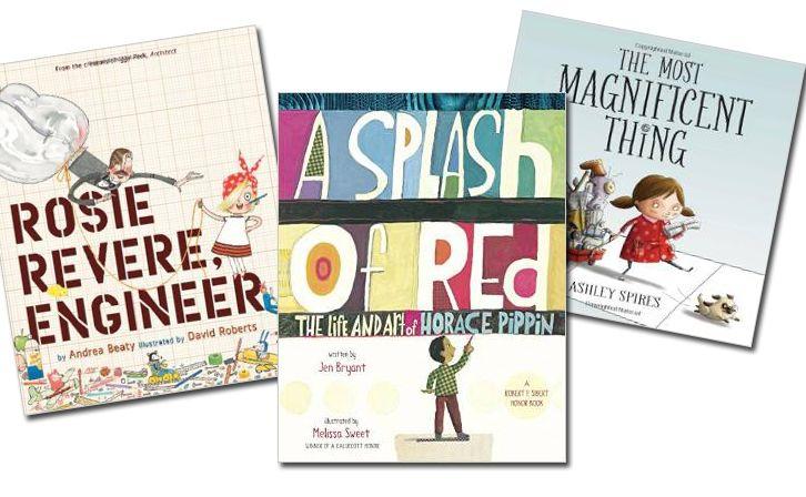 12 Picture Books to Promote Creativity and STEAM STEAM books