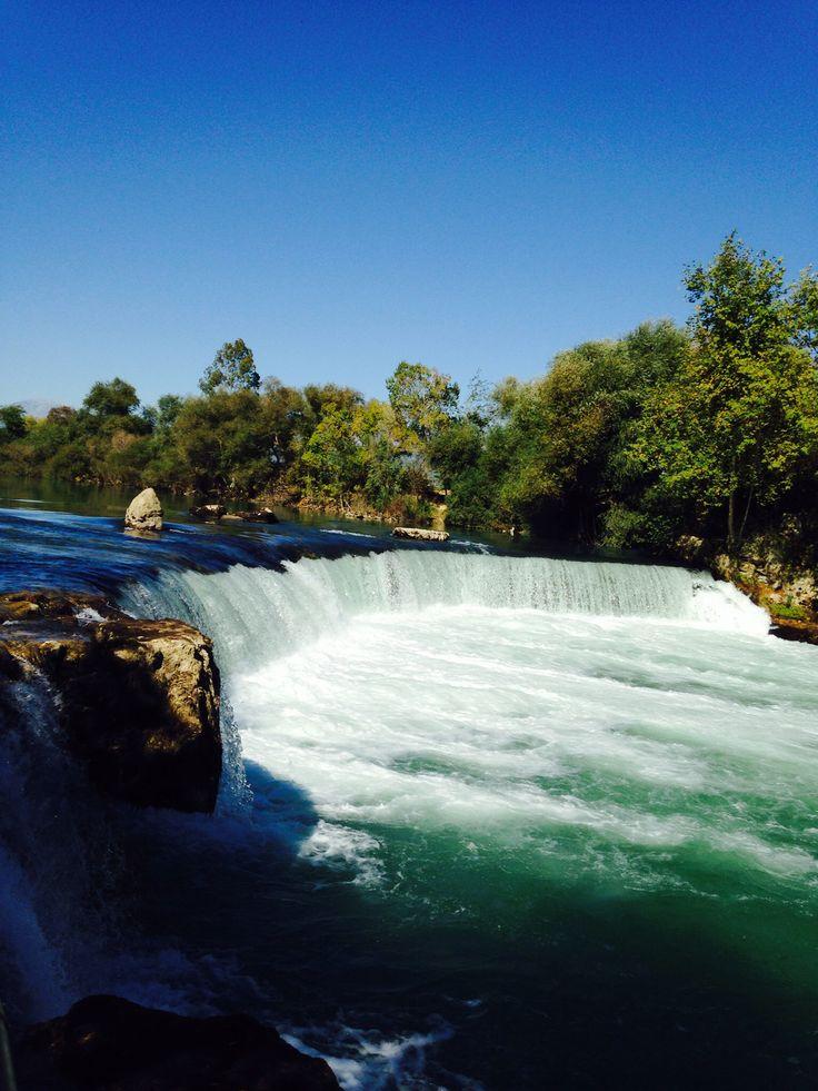 Manavgat Waterfalls (Turkije)