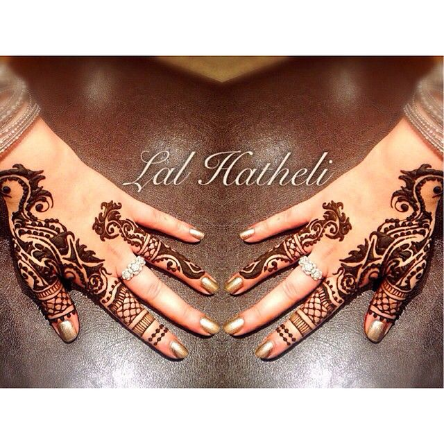 Stunning henna by Lal Hatheli