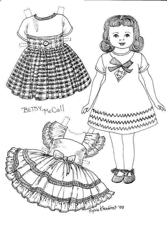 165 best Paper doll coloring pages images on Pinterest Vintage