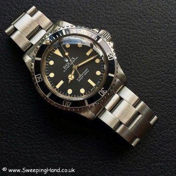 Stunning Unpolished 1983 Rolex 5513 Maxi Dial Submariner