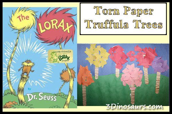 Torn Paper Truffula Trees