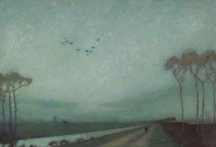 """Jan Mankes – """"De meest verstilde schilder"""""""