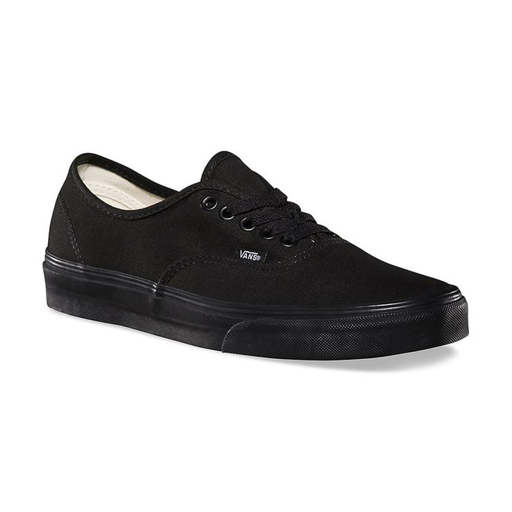 Vans - Authentic Black on Black Shoes