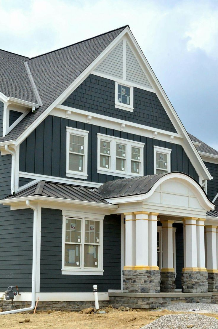 Hardi Plank Siding >> Fabulous Exterior Wall Design With Hardiplank A Home In