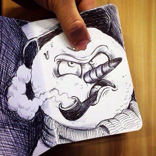 Прикольные картинки своими нарисованные руками
