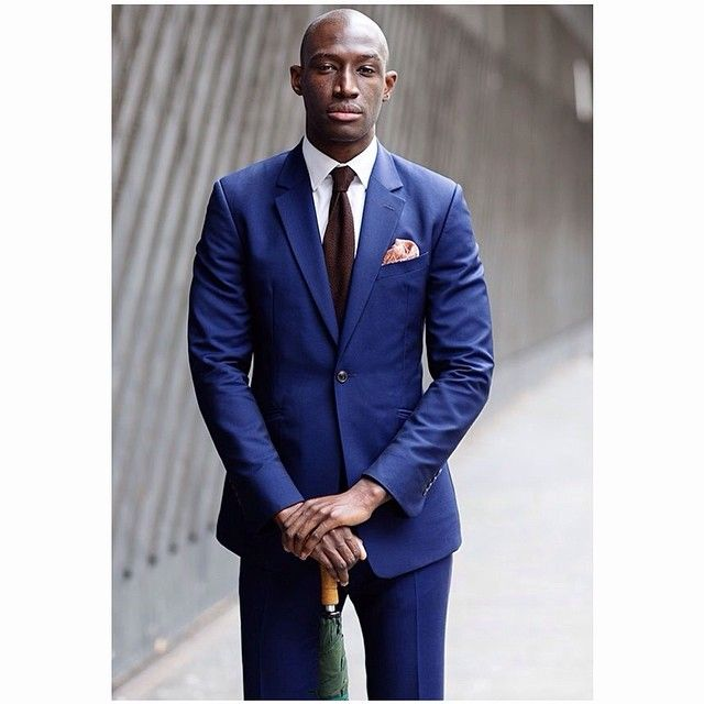 Your thoughts on the suit's color? | www.MensFashionPost.com. Traje Para ...