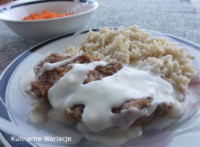 Kulinarne Wariacje: Pieczone piersi kurczaka w sosie serowym