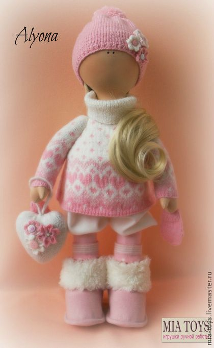 Коллекционные куклы ручной работы. Ярмарка Мастеров - ручная работа Кукла Алёна. Handmade.