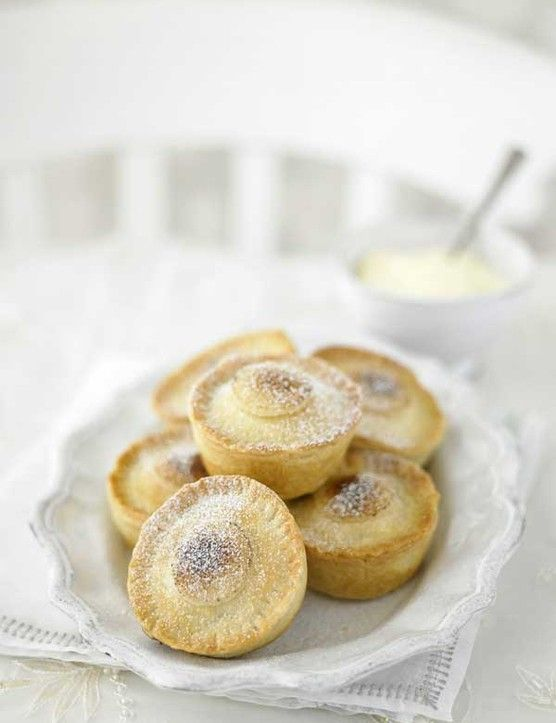 Mince pies 35 Minutes + Overnight Soaking Makes 24 Michael Wignall, executive chef of The Burlington restaurant at Bolton Abbey in Yorkshire, takes his mince pies to a whole new level with the addition of a layer of marzipan.