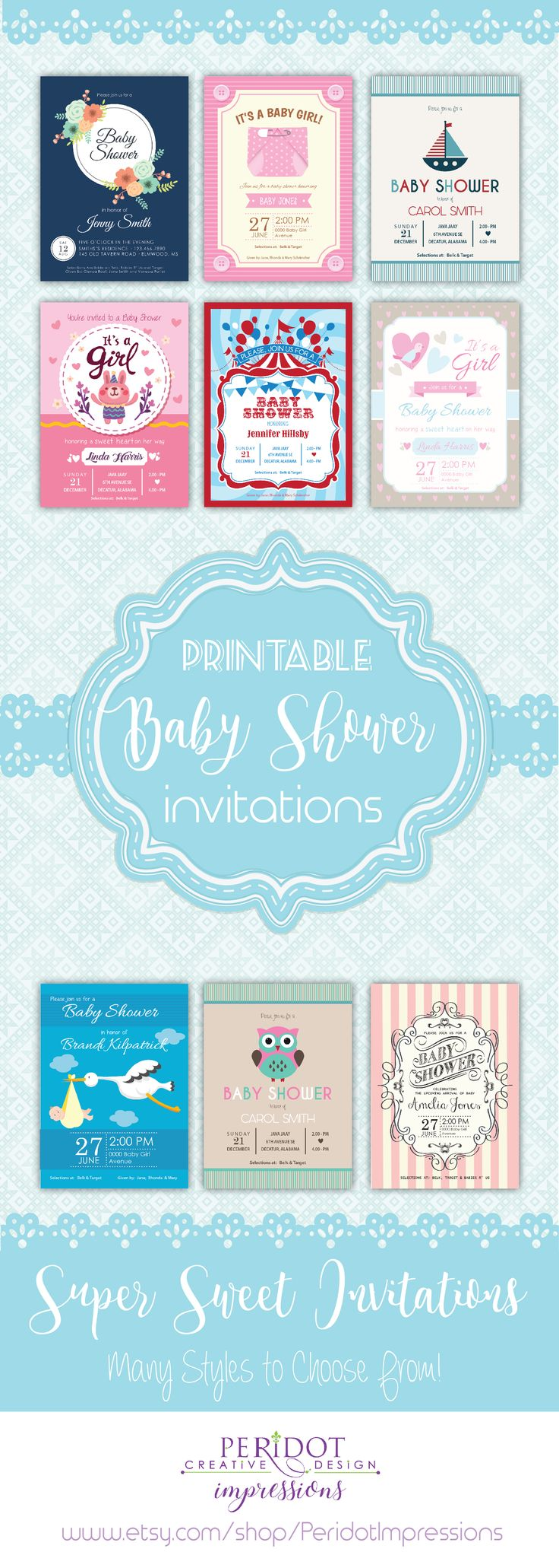 boy baby shower invitations australia%0A Printable Baby Shower Invitations Available Here  Many styles to choose  from  Vintage  Retro