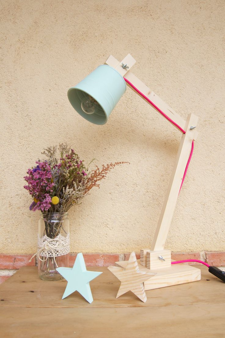 DIY: Lámpara de Madera | La Bici Azul: Blog de decoración, tendencias, DIY, recetas y arte