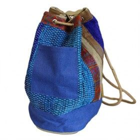 Rugrat Duffel - Blue Detail   Hip Angels Rugrat Duffel bag, featured in blue colour. Thick cotton rope secured with metal eyelets - this is built to last.    These Duffle bags are ideal those days when you are not carrying too much and yet, inexplicably, need a huge bag.    Great as a school or sport bags, perfect for the beach great for kids and those funky fashion victims .  #Wholesaler_Bags #Wholesale_Bag #Bag_Wholesale #Bags_Wholesaler #Rucksack