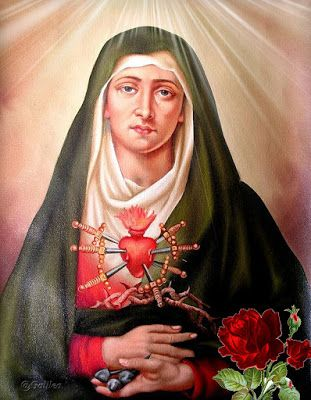 El Rincon de mi Espiritu: Los siete dolores de la Santisima Virgen María