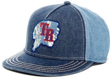 True Religion Indian Head Baseball Cap