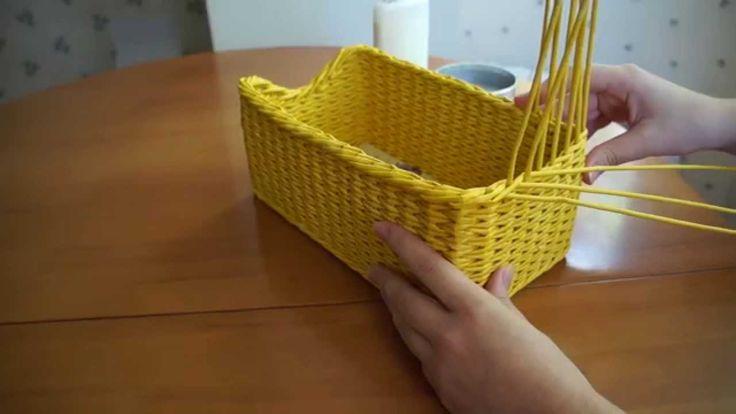 Плетение из бумаги. Загибка Изида без пенечков.
