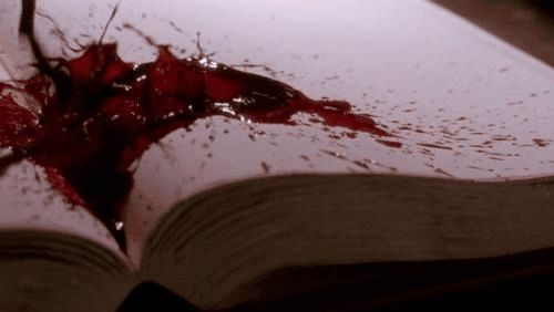 Xx- He coughed, once, twice, blood bubbling up from his mouth as the liquid spewed onto the open pages of the book. She withdrew the sword from his back, a sharp sound as it left the cavity. His body shuddered as he fell to the floor, before becoming silent and still. The filthy animal had the audacity to be leisurely and read a book. - xX