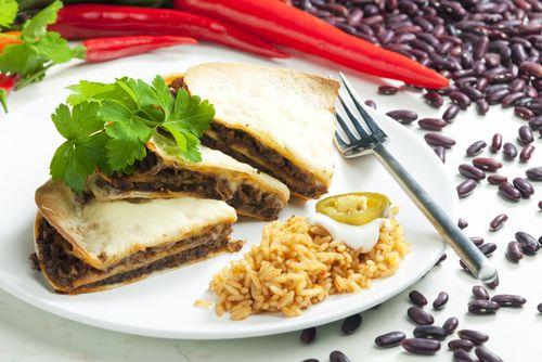 Quesadillas aux haricots noirs - Châtelaine