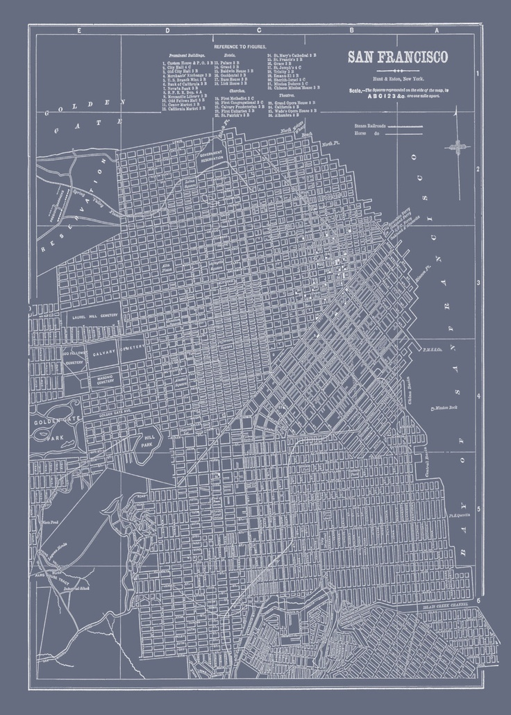 278 best San Francisco Maps images on Pinterest Maps Cards and