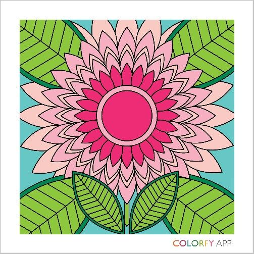 colorfy is an app where you can make wonderful art it an adult color book - How To Make A Coloring Book App