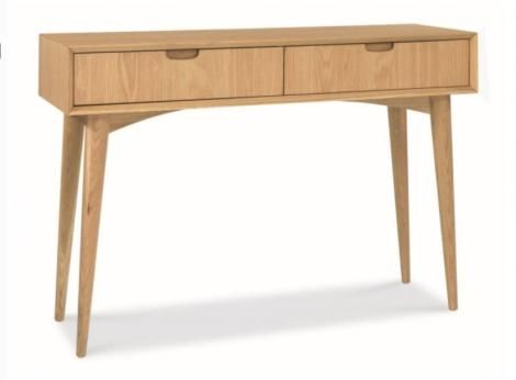 Oslo Console Table With Drawers Timber
