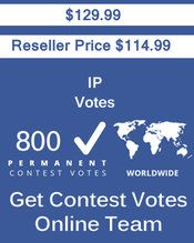 Buy 800 IP/Single Click Votes at $114.99 Votes from different USA IP Address Bulk Votes Available. Different Country IP address available. www.getcontestvot... #buyonlinevotes #buycontestvotes #buyfacebookvotes #getonlinevotes #getcontestvotes #buyvotesforonlinecontest #buyipvotes #getbulkvotes